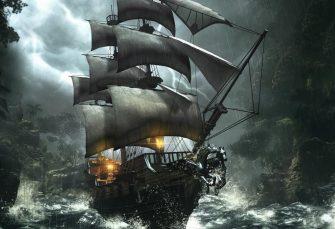 Půl světa: válečník, který odmítá zabíjet a bojovnice, jež se stala vražedkyní, putují skrze Moře střepů v nové fantasy knize Joe Abercrombieho