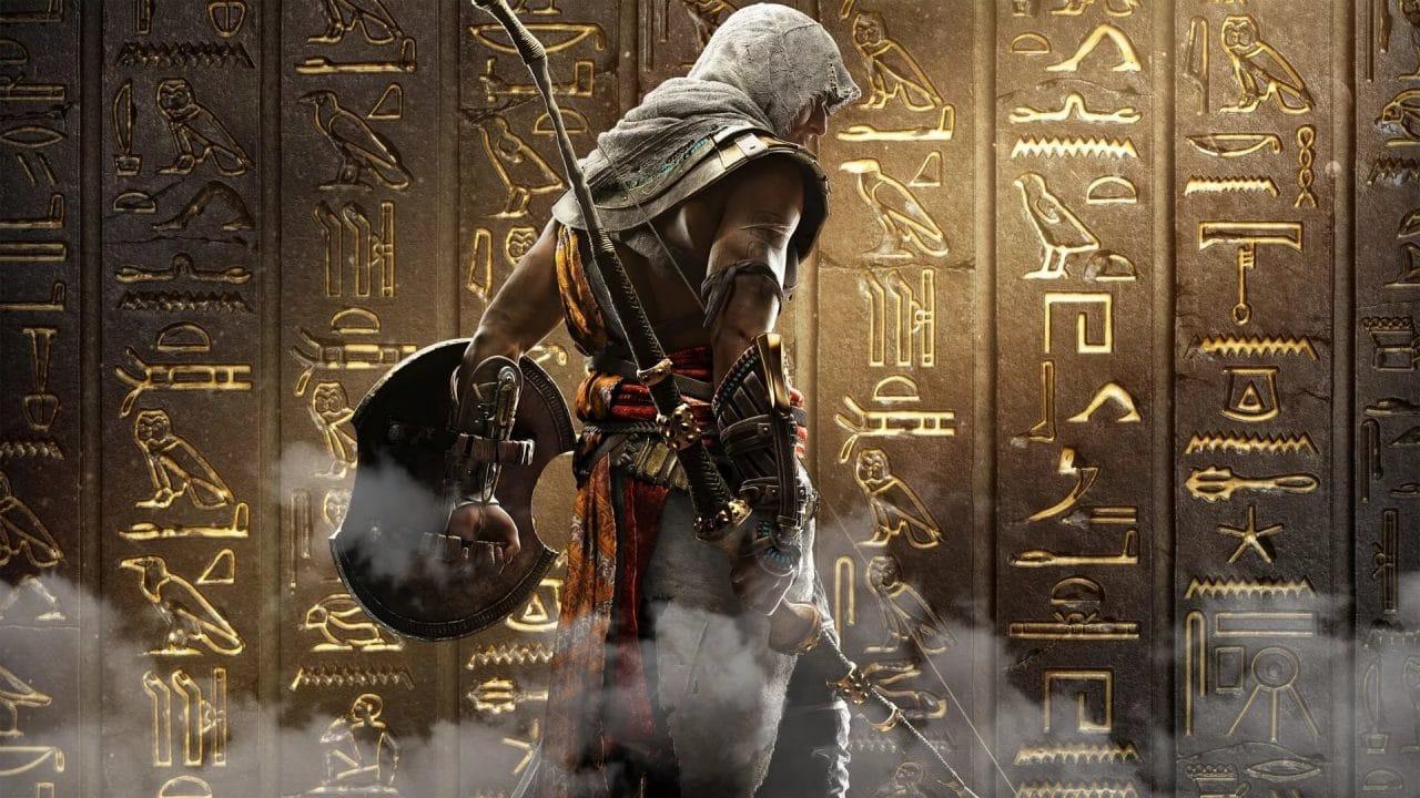 Oliver Bowden: Assassins Creed Origins - Pouštní přísaha cover