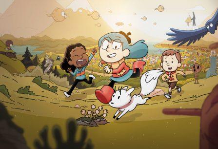 Hilda: modrovlasá hrdinka, která uchvátila čtenářky po celém světě a přinesla dětem zpět dobrodružství s draky, elfy, trolly i obry