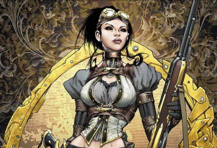 Lady Mechanika: napůl žena, napůl stroj. Krásná a nebezpečná hrdinka v steampukovém světě viktoriánské Anglie pátrá po stopách nelidských experimentátorů i svém původu