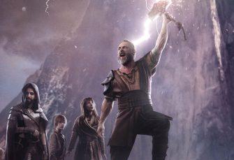 Valhalla - Říše bohů: Výprava do světa severských bohů s Thorem, Lokim a Fenrirem, která se změnila na pohádku o modré karkulce, velkém vlkovi a myslivci s kladivem