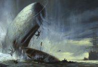 A oceán byl naší oblohou: svět, kde velryby bojují s lidmi válku o přežití, a doslova žijí vlastní interpretaci legendy kapitána Achaba a Moby Dicka