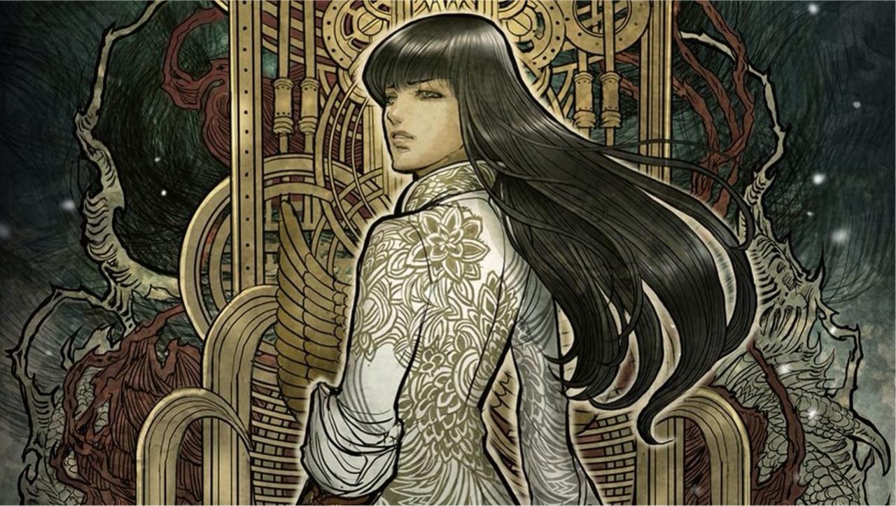 Marjorie Liu: Netvora - Probuzení cover