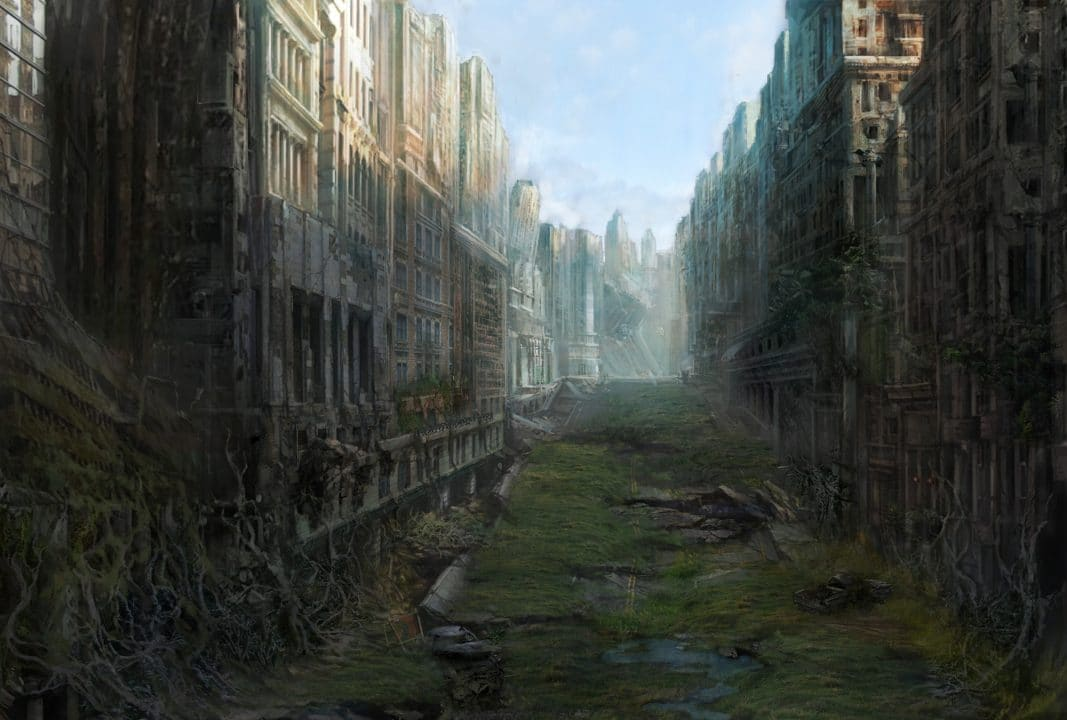 Název knihy: Město přeživších cover