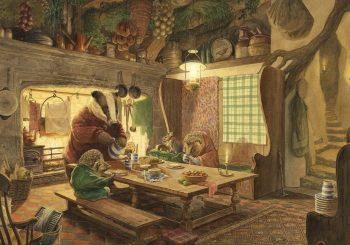 Vítr ve vrbách: nechte se okouzlit jednou z nejoblíbenějších anglických knih pro děti s nádhernými ilustracemi od autora Myší hlídky