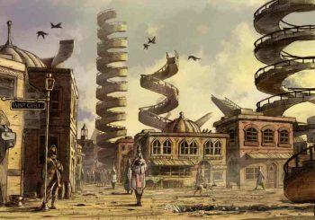 Město schodů: svět, kde se technický věk střetává se zázraky, živými špióny, mrtvými bohy a pohřbenou historií