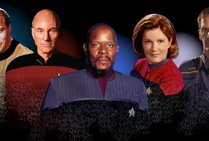 Star Trek - Příběhy od kapitánova stolu: Picard, Archer, Riker, Chakotay a další kapitáni Hvězdné flotily vypráví v baru dobrodružné příběhy ze svých cest