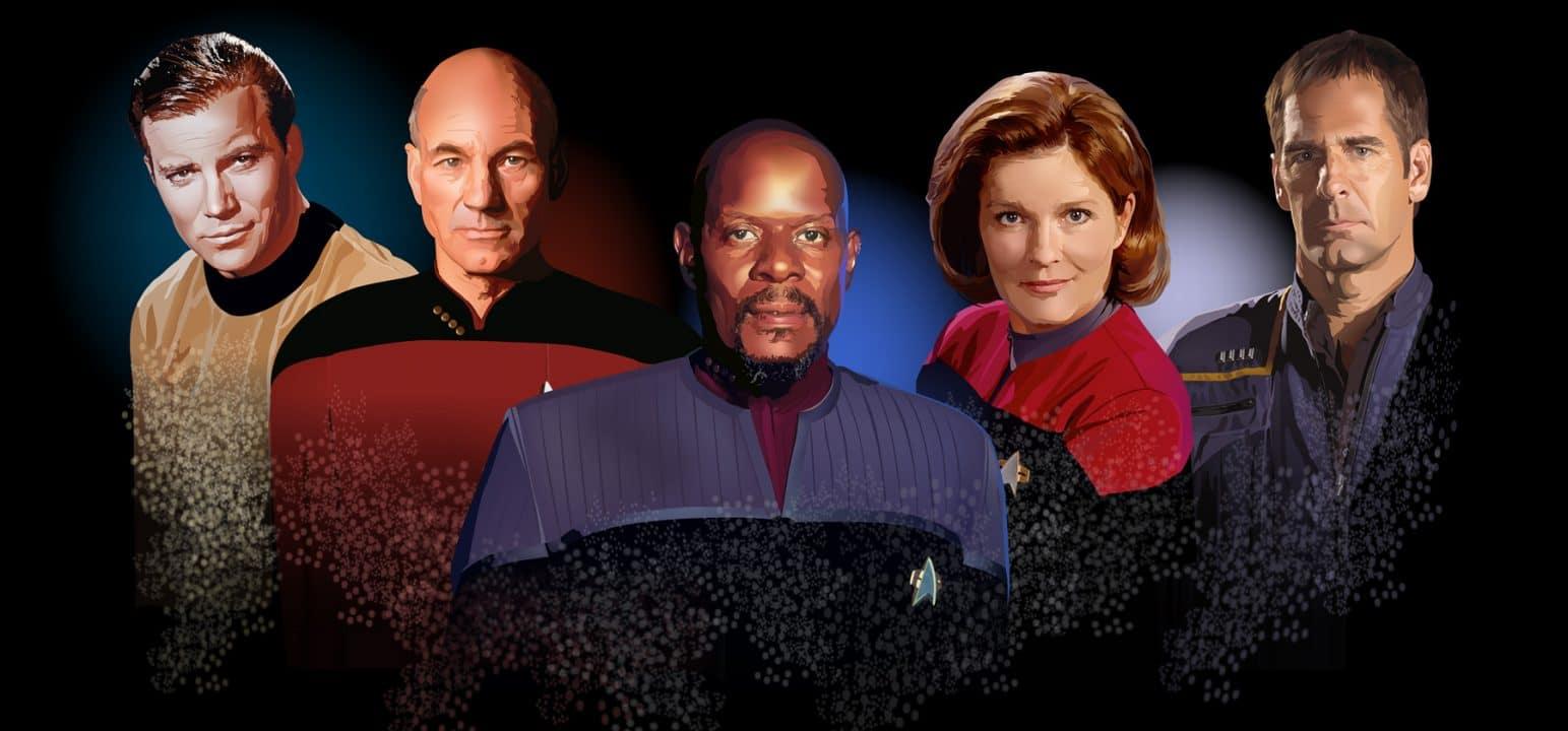 Keith R.A. DeCandido: Star Trek - Příběhy od kapitánova stolu cover