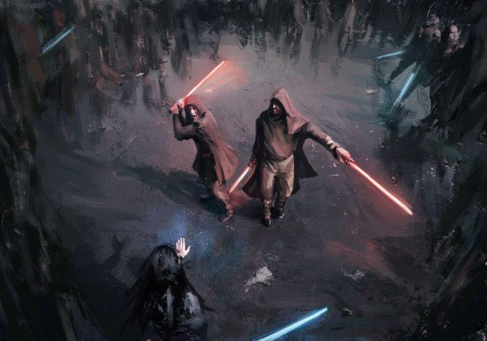 Kevin J. Anderson, John Veitch: Letopisy rytířů Jedi I a II cover