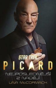 Una McCormack: Star Trek: Picard – Nejposlednější z nadějí obálka