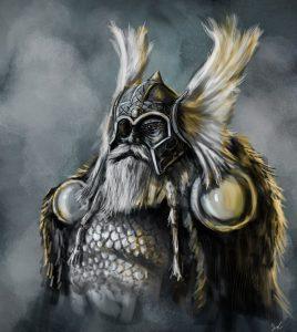 Valhalla - zlatá síň plná bojovníků a další legendy a pověsti ze severské mytologie cover 3