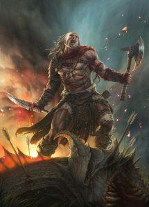 Valhalla - zlatá síň plná bojovníků a další legendy a pověsti ze severské mytologie cover 5