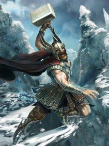 Valhalla - zlatá síň plná bojovníků a další legendy a pověsti ze severské mytologie cover 6