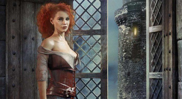 Michaela Merglová: Prokletá věž cover