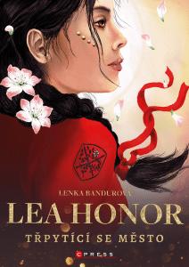 Lenka Bandurová: Lea Honor – Třpytící se město obálka