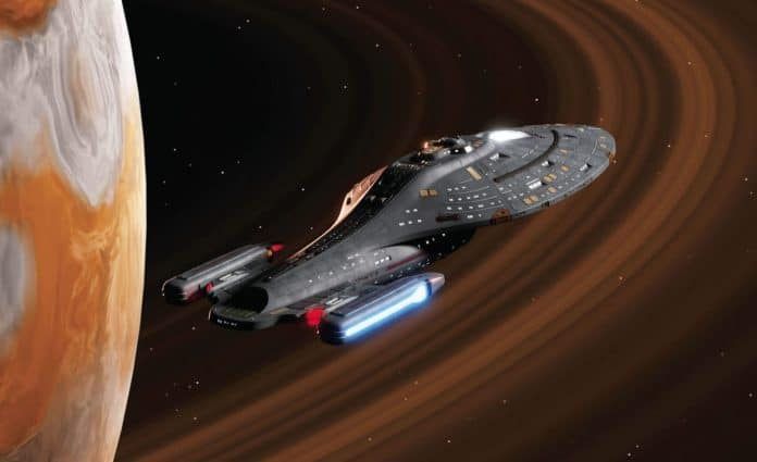 Kirsten Beyer: Nehodní (Star Trek Voyager) cover 2