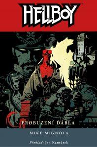 Hellboy: Probuzení ďábla obálka 2