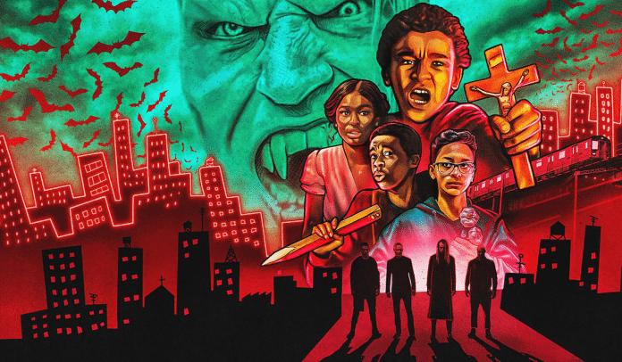 Upíři v Bronxu / Vampires vs. the Bronx cover
