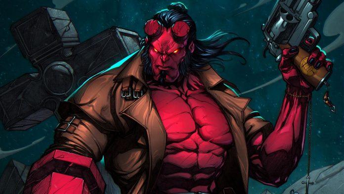 Hellboy: Spoutaná rakev cover