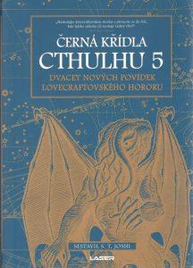 S. T. Joshi: Černá křídla Cthulhu 5 obálka