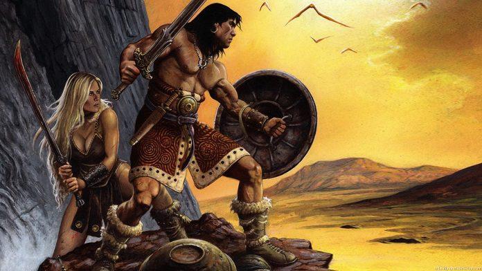 Robert Ervin Howard: Conan zCimmerie cover