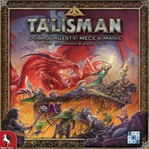 Talisman; Dobrodružství meče a magie, Revidovaná 4. edice obálka